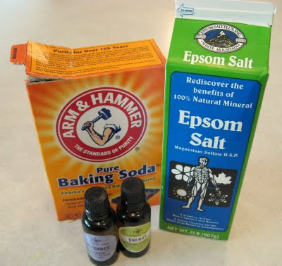 how to make epsom salt bath